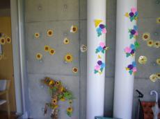 折り紙の花いっぱい