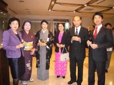 ミャンマー大使ご夫妻と
